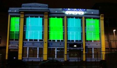 Wolfe Tone Square Dublin NYF 2015 Luminosity