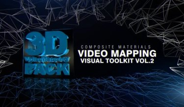 Video Mapping - Visual Toolkit Vol.2