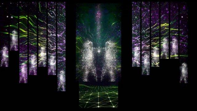 Pavilion II - Hall launch animation