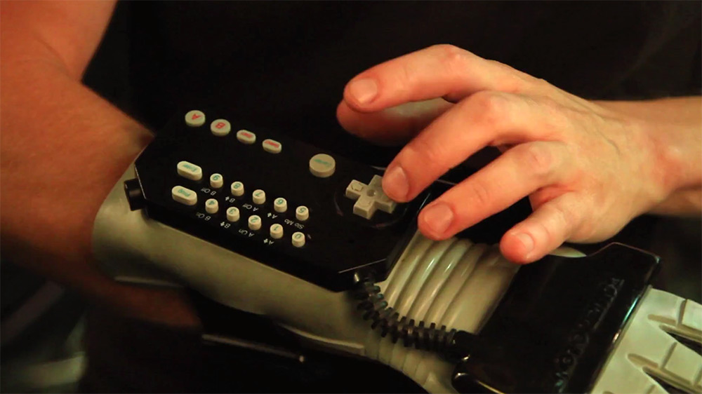 Power Glove as stop-motion animation tool