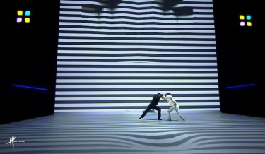 visual performances by COMPAGNIE HYBRIDE